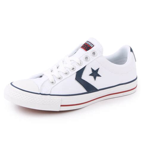 Convers White Ox converse player ev 136931c unisex laced canvas trainers shoes white ebay