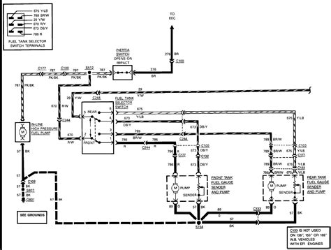 i need to know what the wiring diagram for the rear fuel
