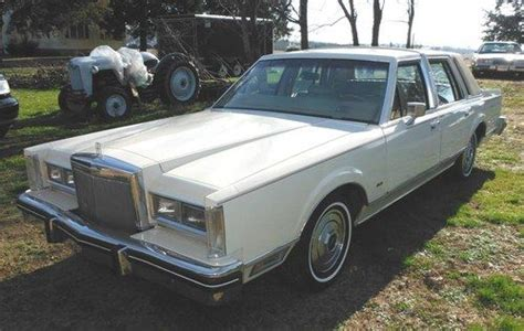 Md 44k sell used 1984 lincoln town car 44k original in bishopville maryland united states