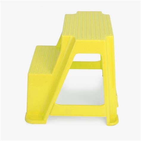 Heavy Duty Plastic Step Stool by New Kitchen Bathroom Caravan 2 Step Plastic Step Up Stools