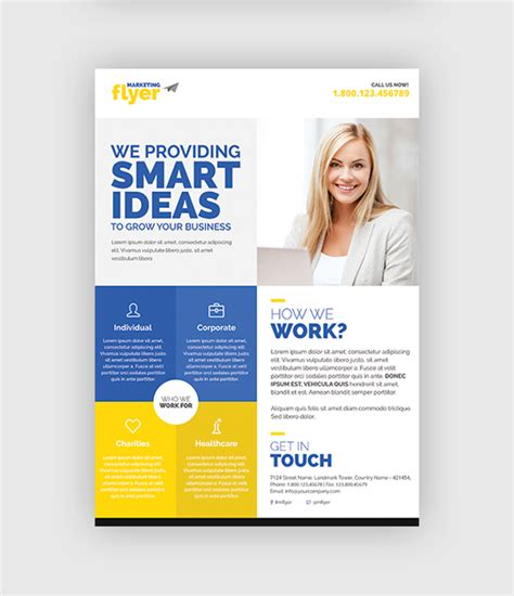 ideas about professionale template on 10 design tips to make a professional business flyer