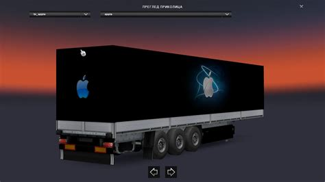 apple trailer apple trailer skin 1 22 ets2 mods euro truck simulator