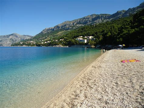 on the beach brela croatia travel guide and photos