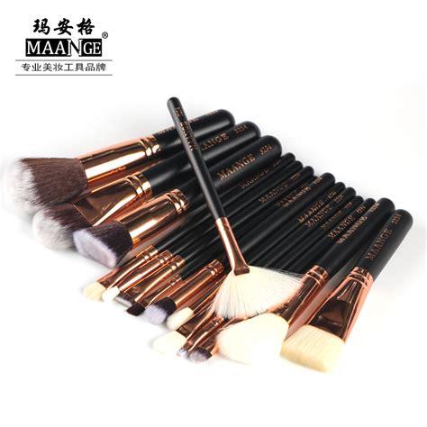 Lamica Complete Essential Set Makeup Brush Kuas Makeup maange 8 15 pcs complete makeup brushes set professional