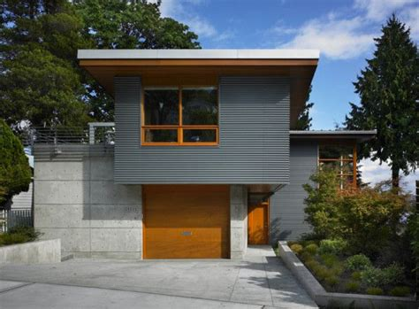metal siding for houses 12 metal clad contemporary homes lakes steel siding and