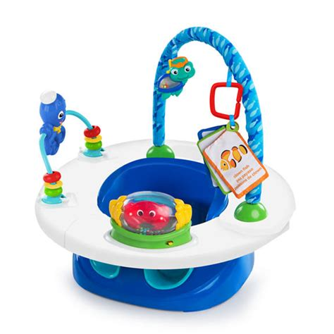 Oball O Duckie Bath Blue 3 in 1 snack discover seat