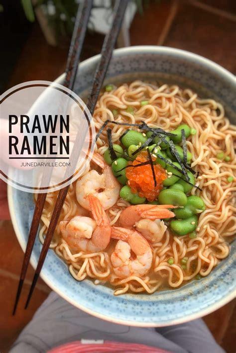 best ramen recipe ramen soup recipe with prawns simple tasty