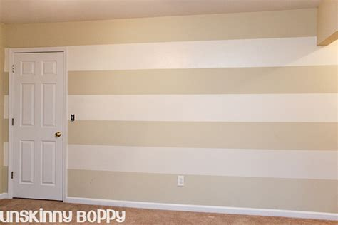 paint on wall the lazy girl s timesaving tips for painting wall stripes