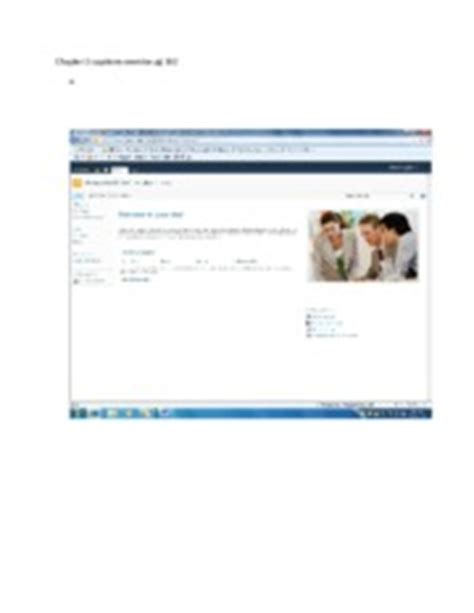 Wgu Mba Capsim by Capstone Exercise Chapter 3 Excel
