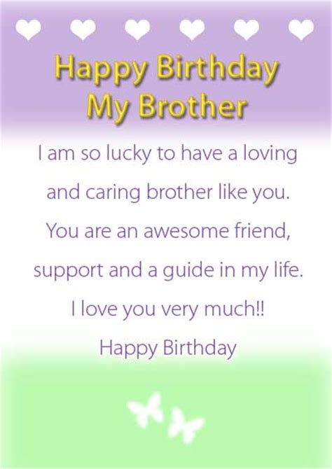 Birthday Cards For Brothers 8 Best Images Of Free Printable Birthday Cards For Brother