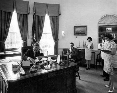 Kennedy Oval Office by The Kennedy Gallery