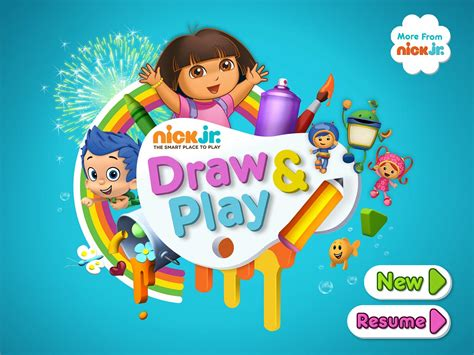 painting nick jr nick jr draw play for iphone and review imore