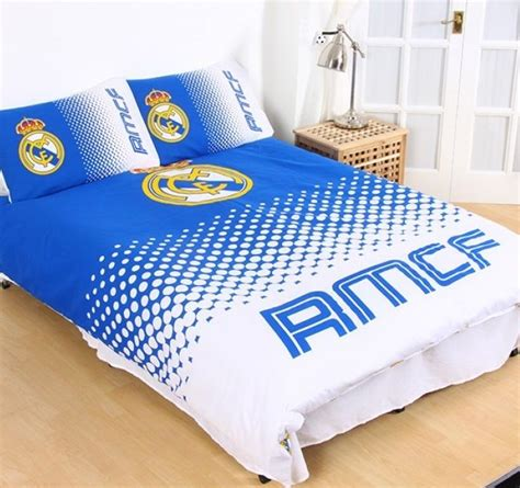 Soccer Quilt Cover by Real Madrid Cf Licensed Quilt Duvet Bedding Cover Sets