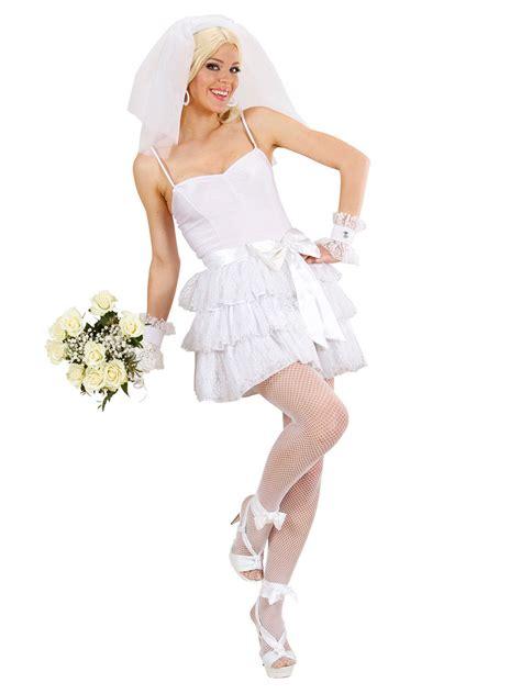 Hochzeit 80er by 80er Jahre Braut Popstar Damenkost 252 M Weiss 80er