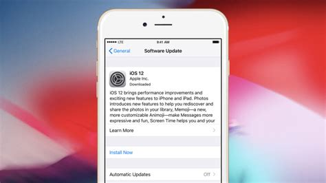 Iphone Update 12 1 How To Disable Ios 12 Automatic Updates Tekrevue