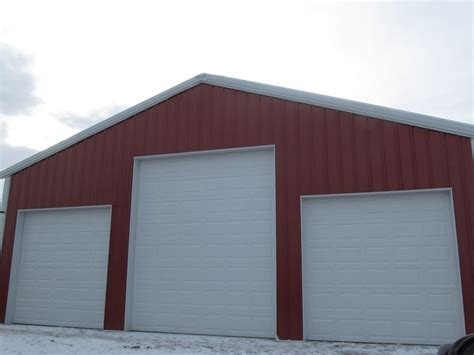 Steel Building Garage Doors by 17 Best Images About Metal Building Doors On