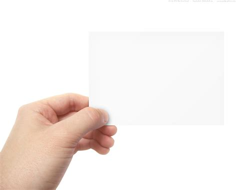 How To Make Paper Holding - image gallery holding blank sign