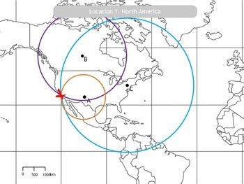 Locating The Epicenter Of An Earthquake Worksheet