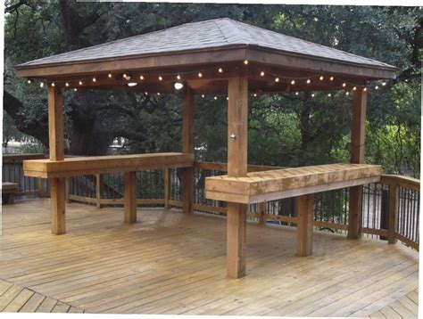 Gazebo With Bar Table Gazebo Design Glamorous Pre Made Gazebos Pre Made Gazebos Wooden Gazebo Prices Impressive