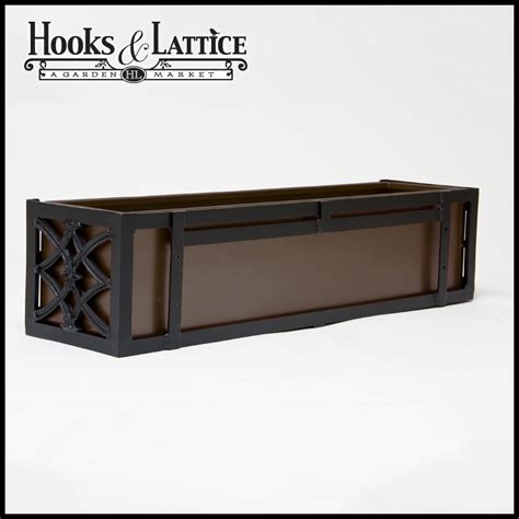 aluminium window boxes powder coated aluminum planter baton aluminum