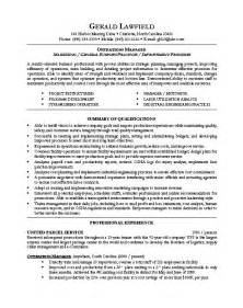 Building Operations Manager Sle Resume by 17 Best Ideas About Executive Resume Template On Executive Resume Resume Work And
