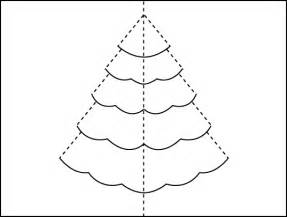 tree pop up template how to make a tree pop up card
