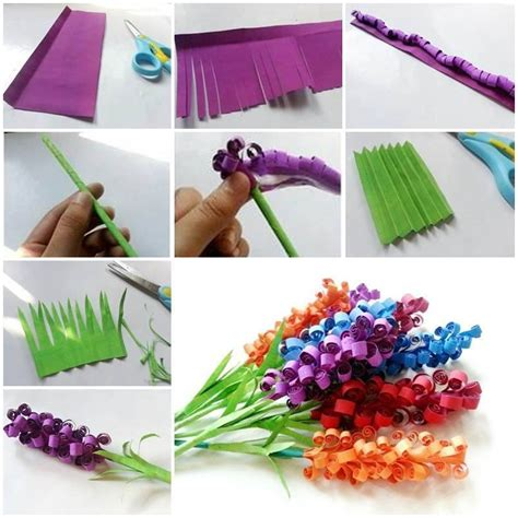 diy paper craft diy paper flower tutorial step by step