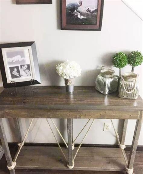 diy build   entry table  home decor guide