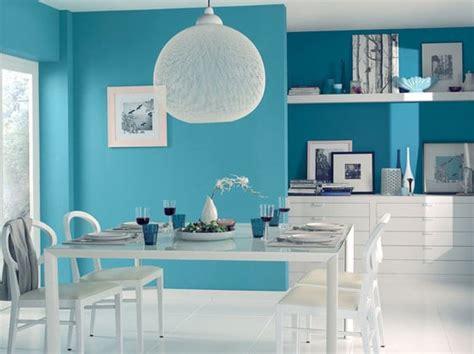 Dã Coration Bleu Un Salon Original En Bleu Turquoise