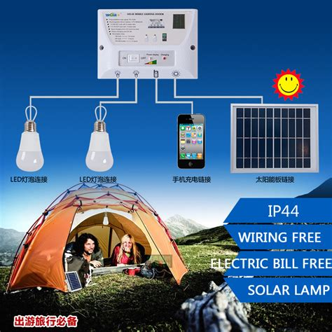 solar power light kit outdoor solar lights system kit 2 led gd traders