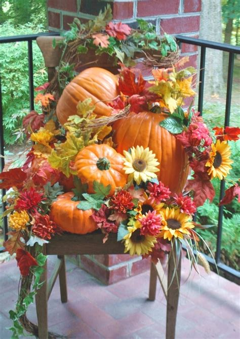 outdoor fall decoration ideas shelley b decor and more fall porch decorating