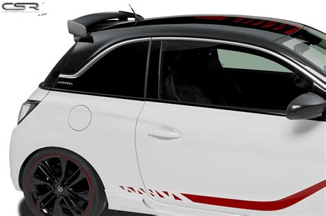 opel adam trunk rear tailgate roof spoiler wing trunk f 252 r opel adam opc