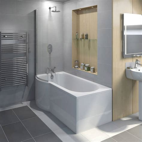 Evesham Shower Bath Screen Victoriaplum Com Bathroom Shower Bath