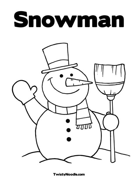 cute snowman coloring page cute snowman coloring pages
