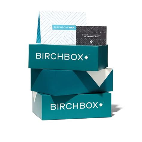 Birchbox Gift Card - birchbox man 3 month subscription gift card birchbox