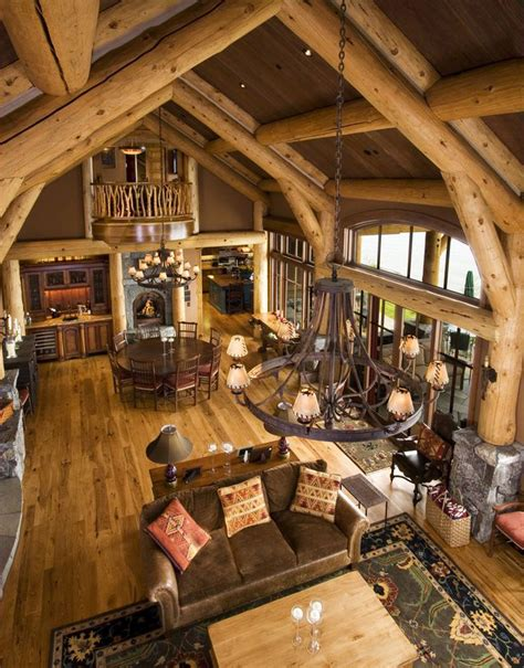 traditional home decor for large house ward log homes rustic design ideas canadian log homes