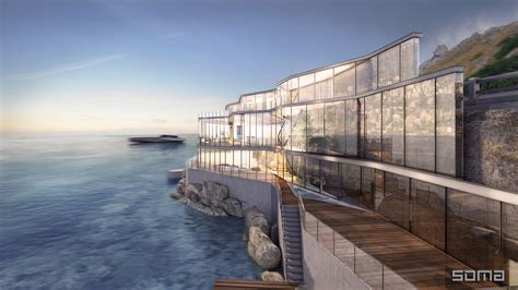 Mountain Home Design Trends amazing glass home on the edge of sea and rock