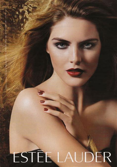 Hilary Rhoda Is The Newest Of Estee Lauder models s the money