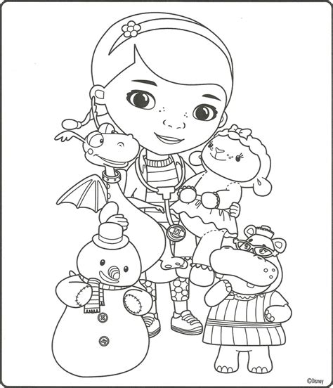 doc mcstuffins giant coloring pages 26 doc mcstuffins color page doc mcstuffins coloring