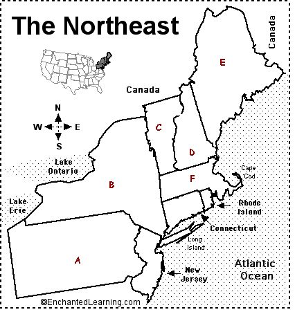 us map quiz spelling northeastern us states and capitals proprofs quiz