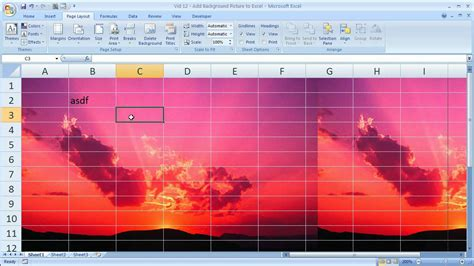 background excel excel tips 12 add background pictures to excel