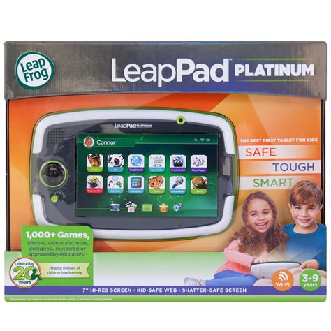 leapfrog leappad platinum kids learning tablet green st ink pads amazon canada - Leapfrog Gift Card Canada