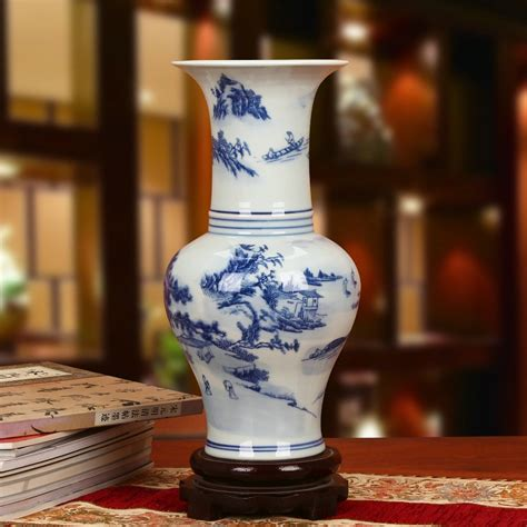 ceramics home decoratives jingdezhen porcelain vase blue and white ceramic vases