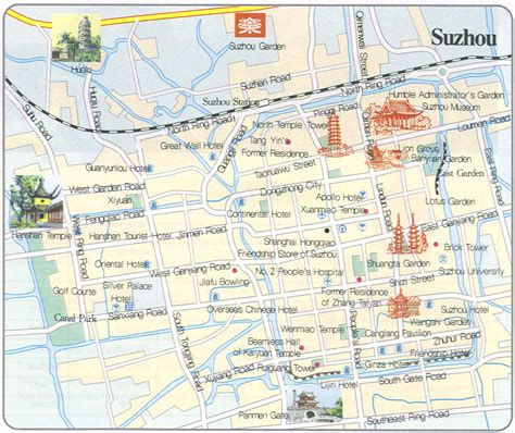 Great Home Plans by Suzhou Travel Maps Printable Hi Res Tourist Map Of