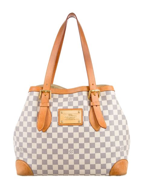 louis vuitton damier with chocolate accents classic canvas louis vuitton damier azur hstead mm handbags