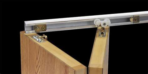 Bifold Closet Door Track Hardware Track Hardware Bi Fold Closet Doors For Doors With 1 1 8 Quot Thickness Madeco