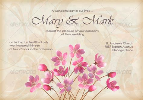 beautiful invitation templates attractive exle of invitation design 22