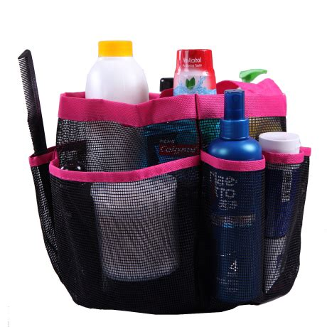 bathroom tote organizer hde shower caddy mesh bag college dorm bathroom carry tote