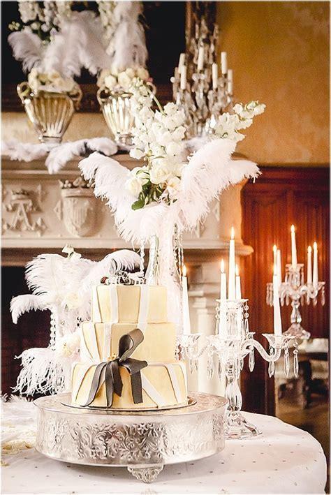 Great Gatsby Wedding Inspiration at Chateau Challain