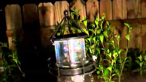 replacement solar light for lighthouse solar powered lighthouse youtube